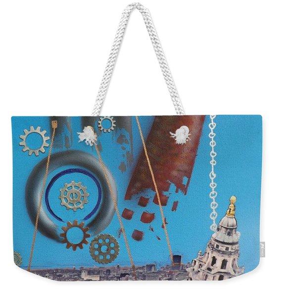 Corporate Greed Weekender Tote Bag