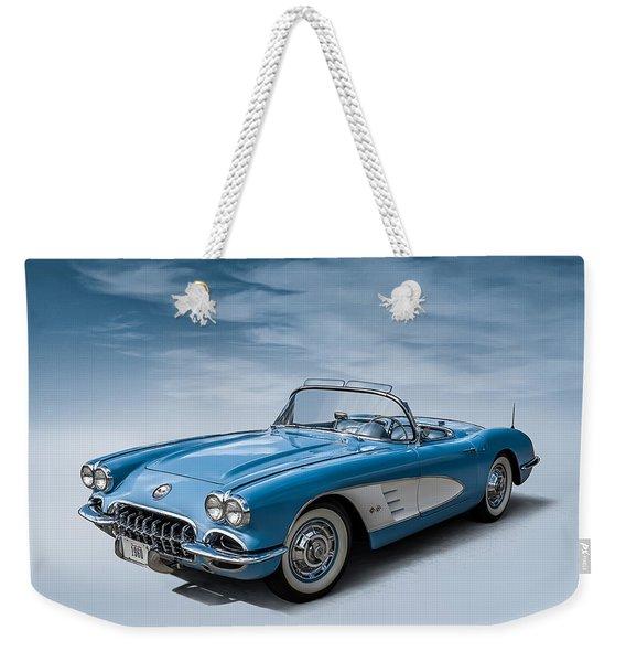 Corvette Blues Weekender Tote Bag