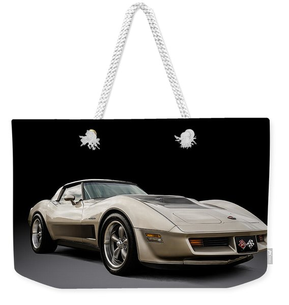 Corvette C3 Weekender Tote Bag