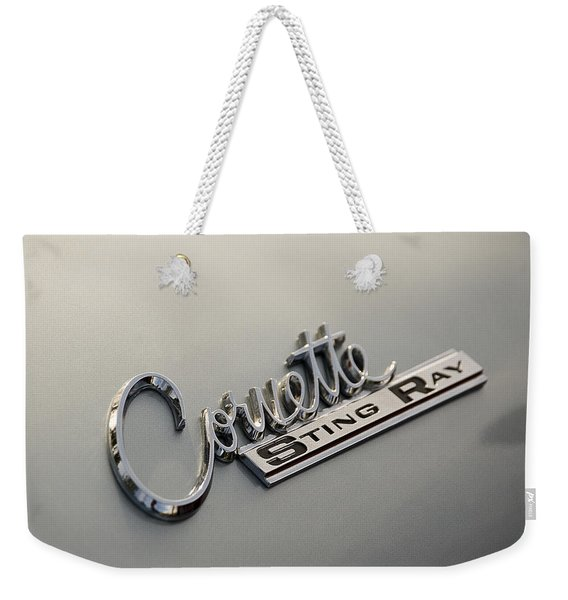 Corvette Sting Ray Weekender Tote Bag
