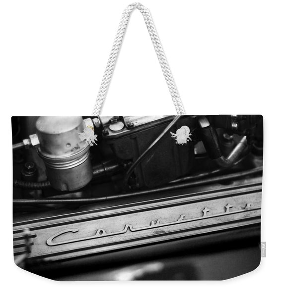 Corvette Valve Cover Weekender Tote Bag