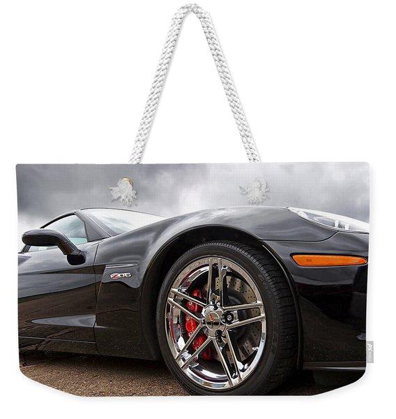 Corvette Z06 Weekender Tote Bag