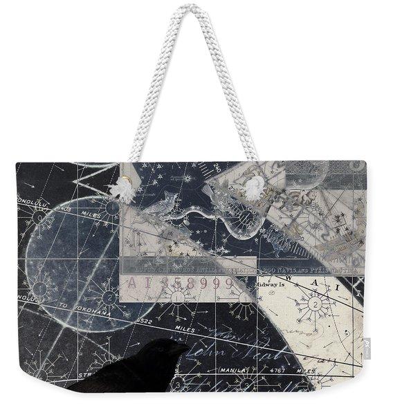 Corvus Star Chart Weekender Tote Bag