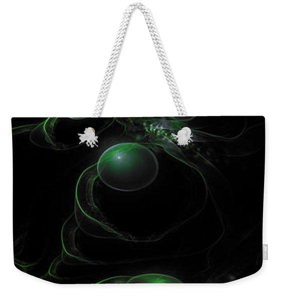 Cosmic Alien Eyes Original 2 Weekender Tote Bag