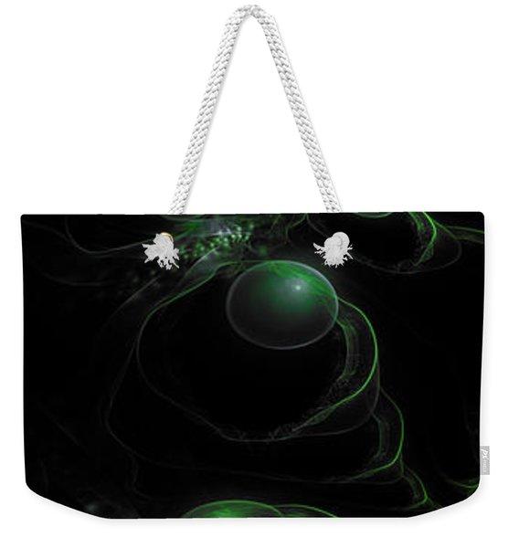 Cosmic Alien Eyes Original Weekender Tote Bag