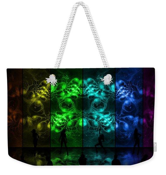 Cosmic Alien Vixens Pride Weekender Tote Bag