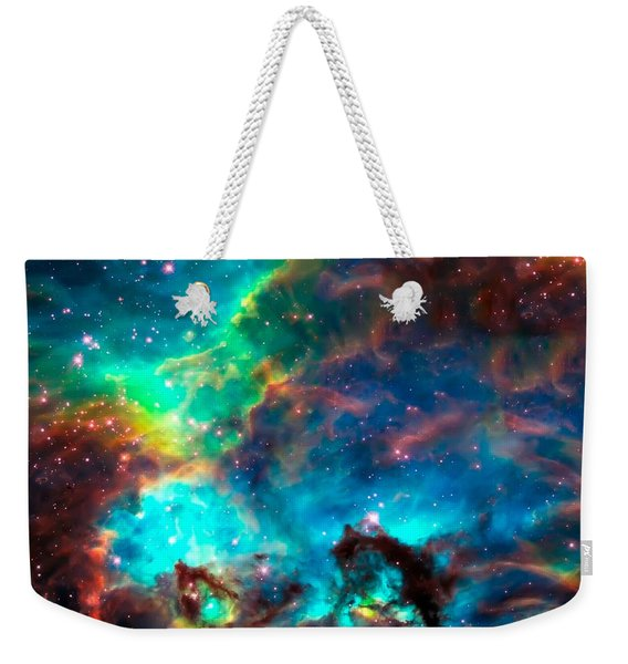 Cosmic Cradle 2 Star Cluster Ngc 2074 Weekender Tote Bag