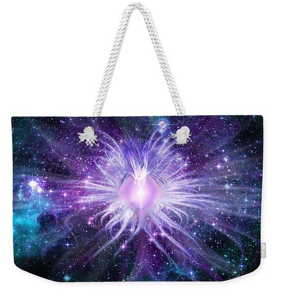 Cosmic Heart Of The Universe Weekender Tote Bag