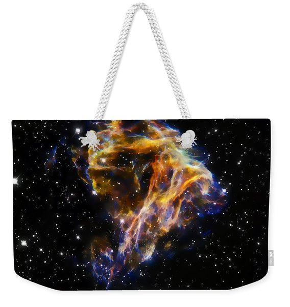 Cosmic Heart Weekender Tote Bag