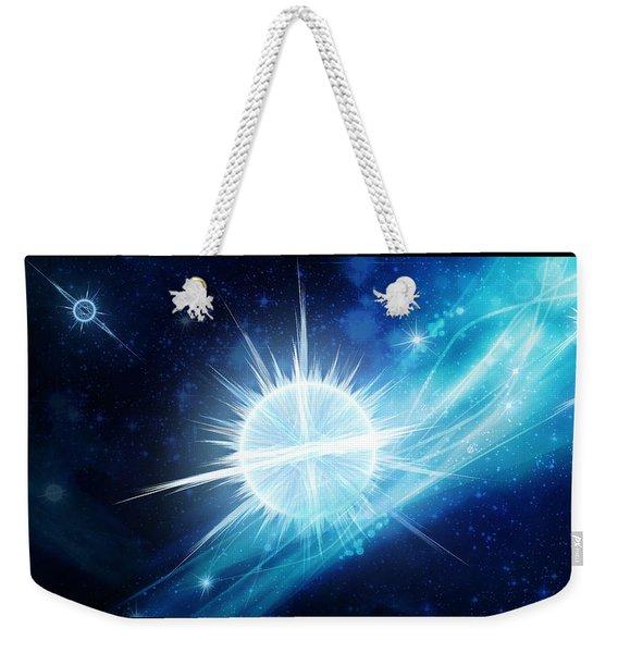 Cosmic Icestream Weekender Tote Bag