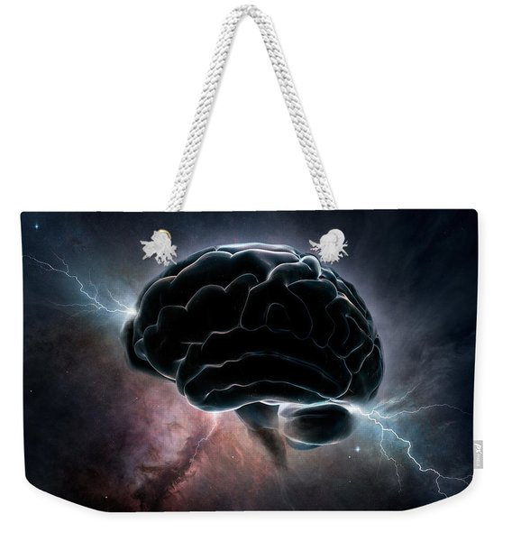 Cosmic Intelligence Weekender Tote Bag