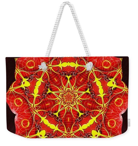 Cosmic Masculine Firestar Weekender Tote Bag