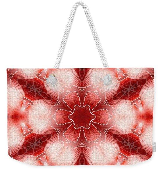 Cosmic Spiral Kaleidoscope 22 Weekender Tote Bag