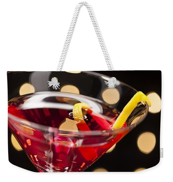 Cosmopolitan On The Dance Floor Weekender Tote Bag