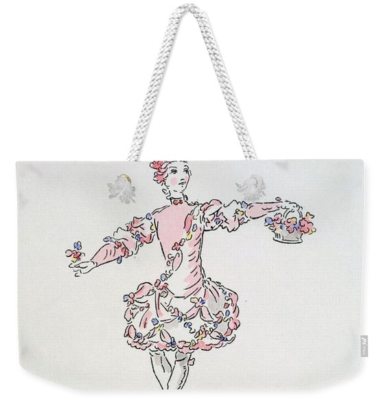 Costume Design For A Young Egyptian Dressed As Spring Weekender Tote Bag