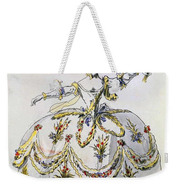 Costume Design For Ceres, Facsimile Weekender Tote Bag