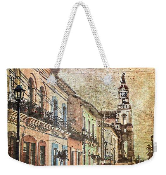 Cotacachi Morning Weekender Tote Bag
