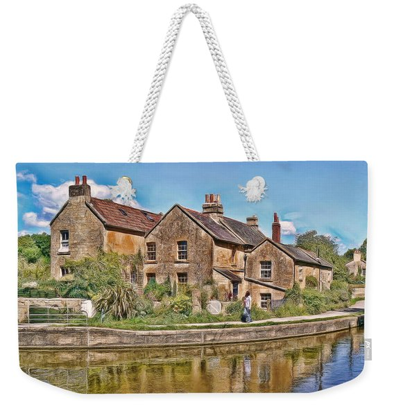 Cottages At Avoncliff Weekender Tote Bag