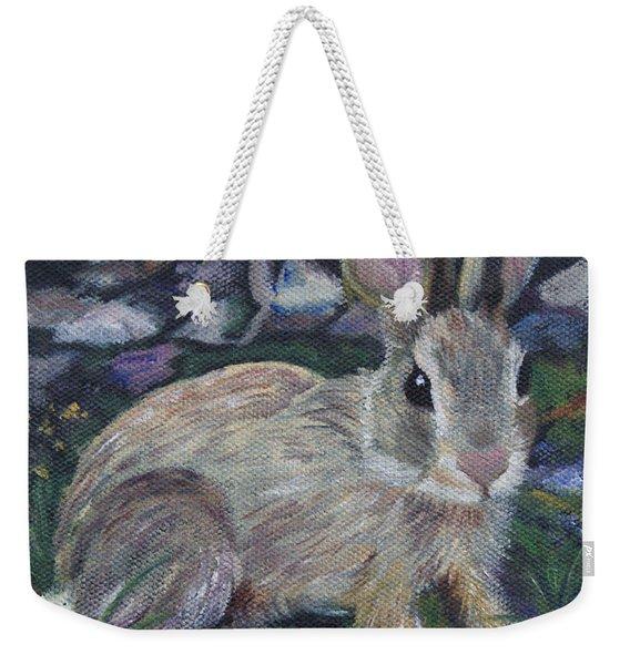 Cottontail Weekender Tote Bag