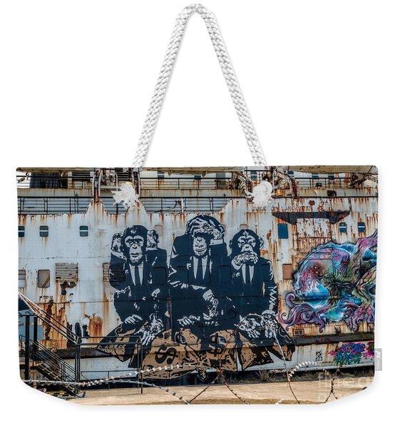 Council Of Monkeys 2 Weekender Tote Bag