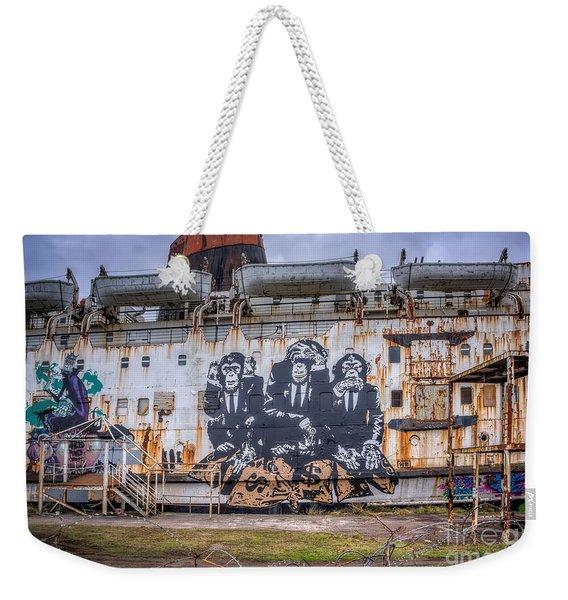 Council Of Monkeys Weekender Tote Bag