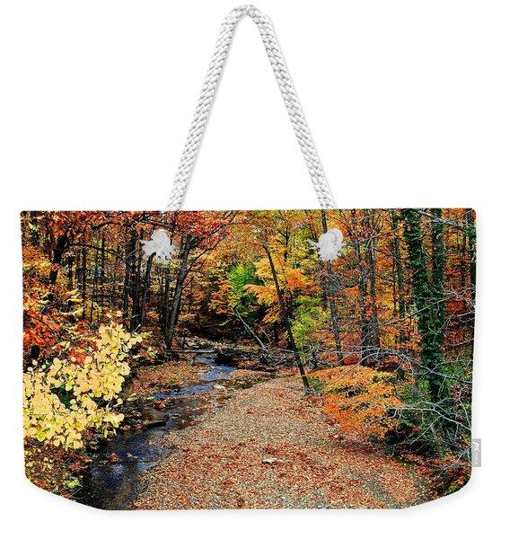 Count The Colors Weekender Tote Bag