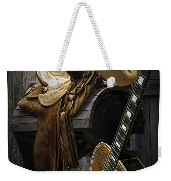 Country And Western Music Weekender Tote Bag
