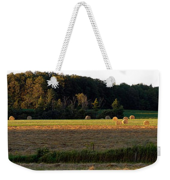 Country Bales  Weekender Tote Bag