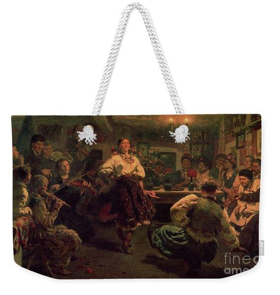 Country Festival Weekender Tote Bag