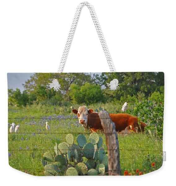 Country Friends Weekender Tote Bag