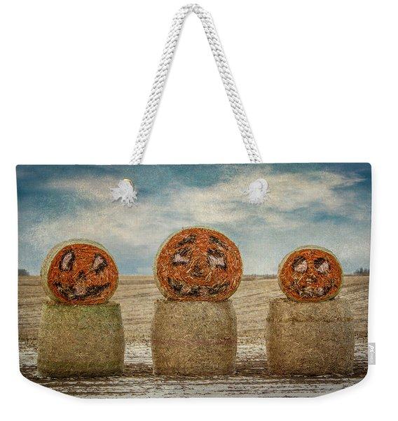 Country Halloween Weekender Tote Bag