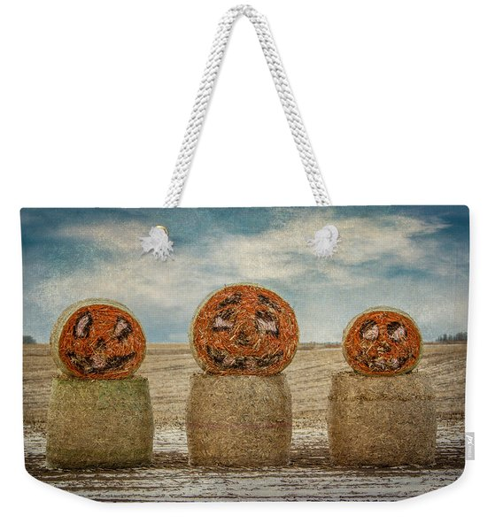 Country Halloween Weekender Tote Bag