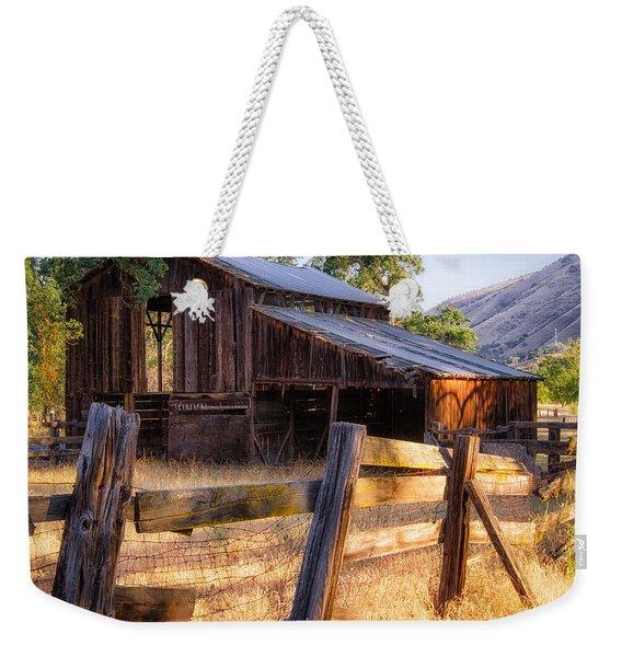 Country In The Foothills Weekender Tote Bag