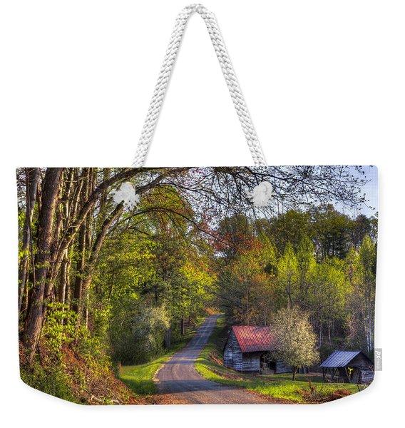 Country Lanes Weekender Tote Bag