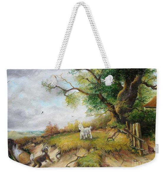 Country Life  Weekender Tote Bag