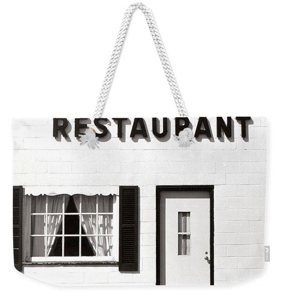 Country Restaurant Weekender Tote Bag