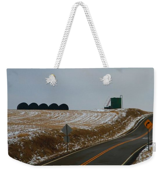 Country Roads In Holmes County Weekender Tote Bag