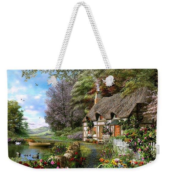 Countryside Cottage Weekender Tote Bag