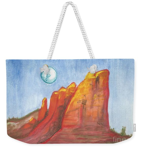 Court House Butte  Weekender Tote Bag