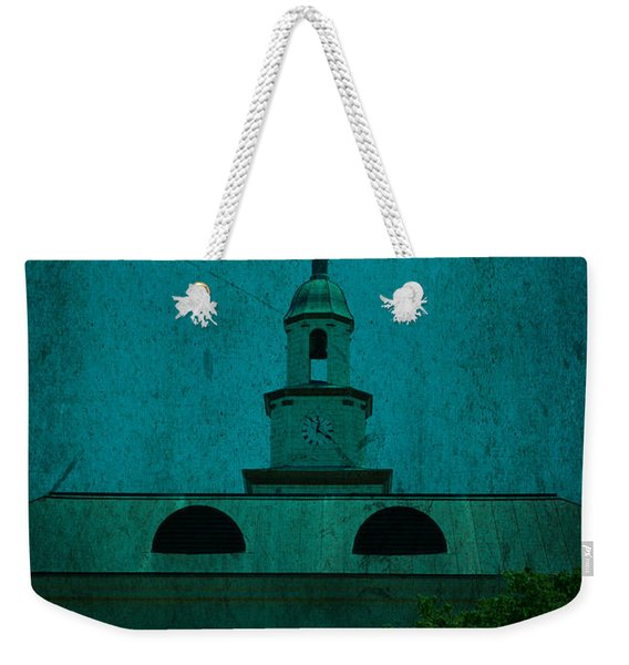 Court House Steeple Fayetteville Tennessee Weekender Tote Bag