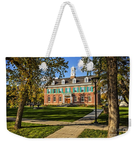 Court House Weekender Tote Bag