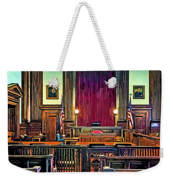 Courtroom Weekender Tote Bag
