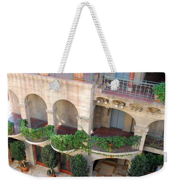 Courtyard 2 Weekender Tote Bag
