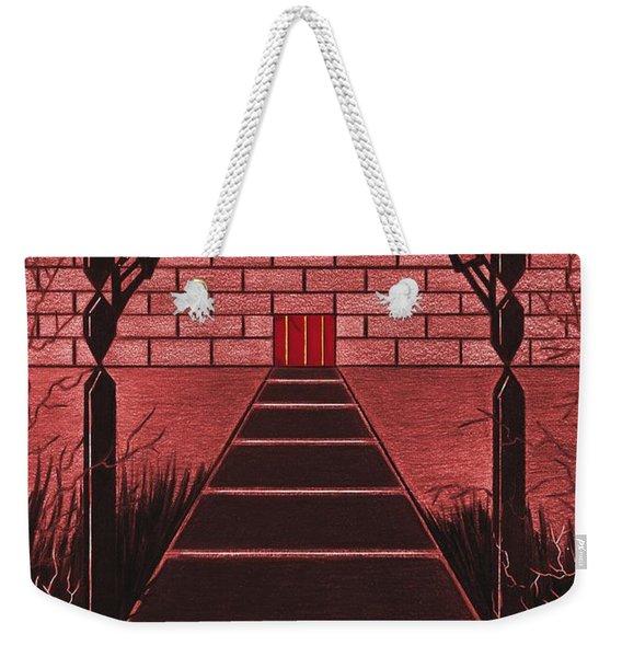 Courtyard Weekender Tote Bag