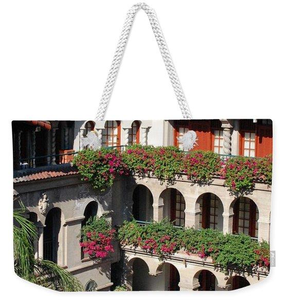 Courtyard Overlook Weekender Tote Bag