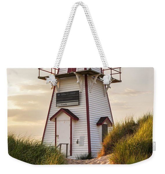 Covehead Harbour Lighthouse Weekender Tote Bag