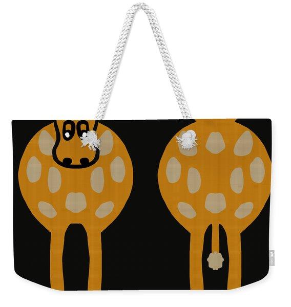 Cow - Both Ends Weekender Tote Bag