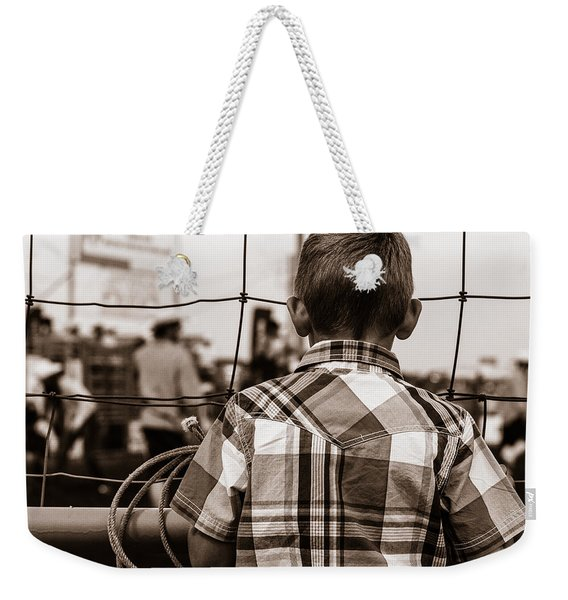 Cowboy Dreams Weekender Tote Bag