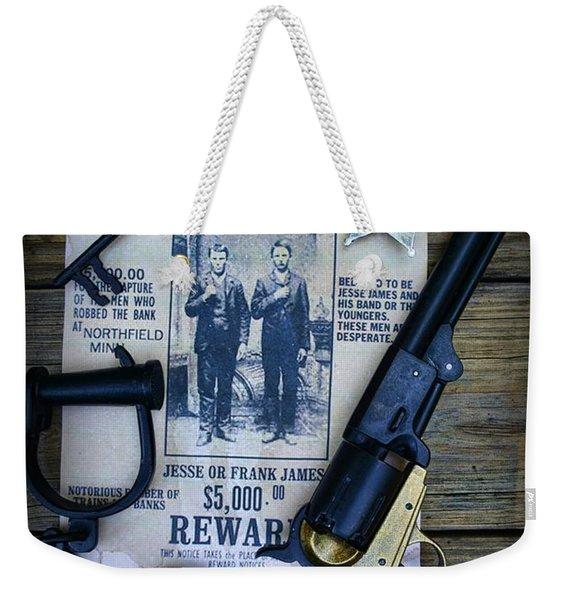 Cowboy - Law And Order Weekender Tote Bag