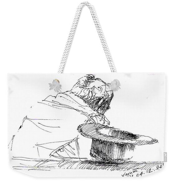 Cowboy Taking A Break  Weekender Tote Bag